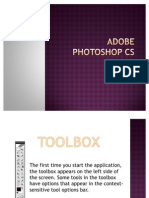 Adobe Photoshop CS TUTORIAL (Work Area)