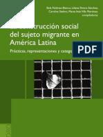 Construcción social del sujeto migrante