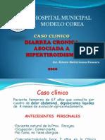 Diarrea Asociada a Hipertiroidismo