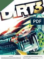 Dirt3 Manual PS3 UK