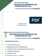 ORGANIZAÇAO EMPRESAS CC