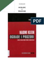 NaomiKlein-Ograde i Prozori