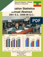 educationstatstics 2001]