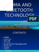 Cdma and Bluetooth