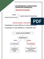 ORGANICA P - Teoria Recristalização
