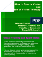 Introduction to Sports Vision