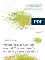 Getting Ready to Prayer Walk (July 2010)