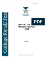 2011 Closing the Gaps Report