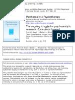 Psychotherapy Struggle