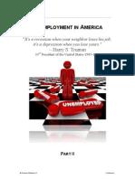 Unemployment in America II