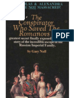 The Conspirator Who Saved the Romanovs