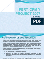 Pert, Cpm y Project 2007 2a Parte