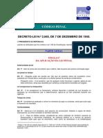 Codigo Penal Decreto Lei 2848 de 1940 e Suas Atualizacoes