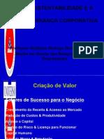 A sustentabilidade e a governança corporativa