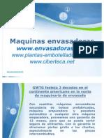 Maquinas Envasadoras y Equipo de Envasado en Cuba