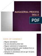 Managerial Process Skillls- 2