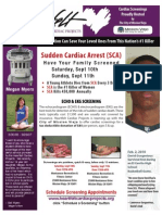 Cardiac Screening in Mission Viejo, CA -- Sat. & Sun. Sept. 10th & 11th