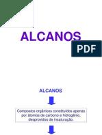 alcanos - Projeções de Newmann