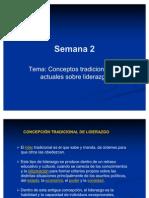 Conceptos Tradicionales y Actuales Sobre Liderazgo Power 2