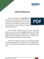Haleeb Internship Report