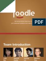 Foodle Presentation