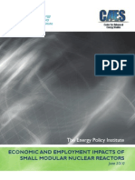 Economic and Employment Impacts of Smrs