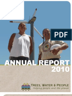 Trees, Water & People 2010 Annual Report