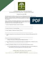 DOA Hardship Reimbursement App
