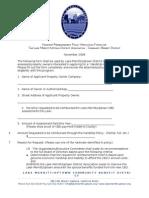 LMUDA Hardship Reimbursement App 2010