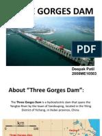 three gorges dam 2019