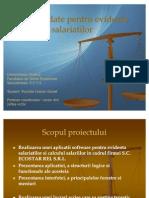 Baza de Date Pentru Evidenta Salariatilor_Pocriste Cosmin Daniel