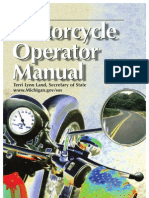 Motorcycle Operator Manual