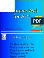 Discoverer Web Training in San Diego-Spreadoutpages