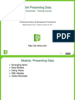 Qml Presenting Data
