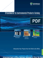 Groundwater Monitoring Instruments Modeling Software Catalog[1]