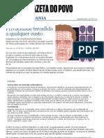 Privacidade Invadida a Qualquer Custo - Vida e Cidadania - Gazeta Do Povo