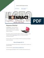 09-[ Rotaract D.4670 ] Repasse Distrital