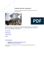 El Nuevo Museo Soumaya Abre Hoy Sus Puertas