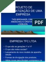 Projeto de Informatizao de Uma Empresa 2