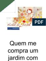 Cecilia Meireles Quem Me Compra Um Jardim