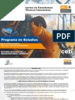 Progra de Estudios CETI  Guitarra Clásica Cont 2011