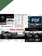 Catalogo Tiida Sedan