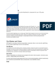 About PepsiCo