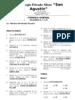 Fórmula General I