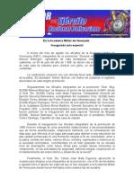 Inaugurada aula especial en la Academia Militar de Venezuela