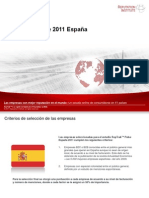 2 Spain RepTrak 2011 Topline Report