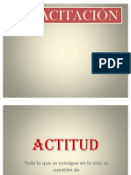 ACTITUD - Presentacion de Power Point