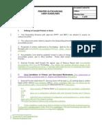User Guidelines for Printer Outsourcing v4
