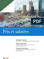 Prix Et Salaires Dans Le Monde - on - 2009
