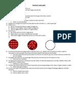 Standard 1 Study Guide
